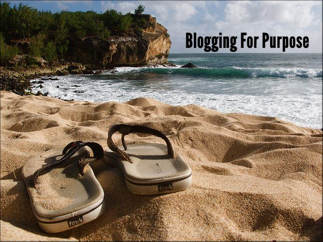 <h5>▲ Blogging For Purpose</h5><p>Anyone can shoot a photo like this and the possibilities are endless.</p>