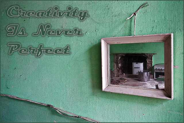 <h5>▲ Creativity Is Never Perfect</h5><p>Beautiful walls are ideal for more more more than just framed pictures.</p>
