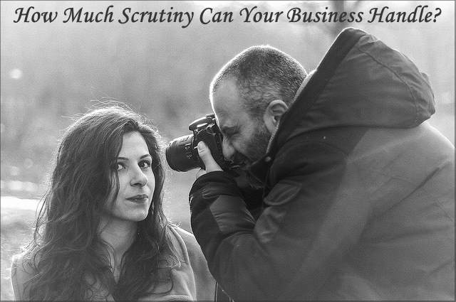 """<h5>▲ How Much Scrutiny Can Your Business Handle?</h5><p>I love this kind of """"Up Close"""" and personal image. I bet it is already inspiring several content ideas.</p>"""