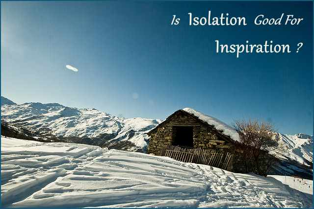 <h5>▲ Is Isolation Good For Inspiration?</h5><p>A beautiful image of nature and tranquility.  Perfect for an equally inspirational message.</p>