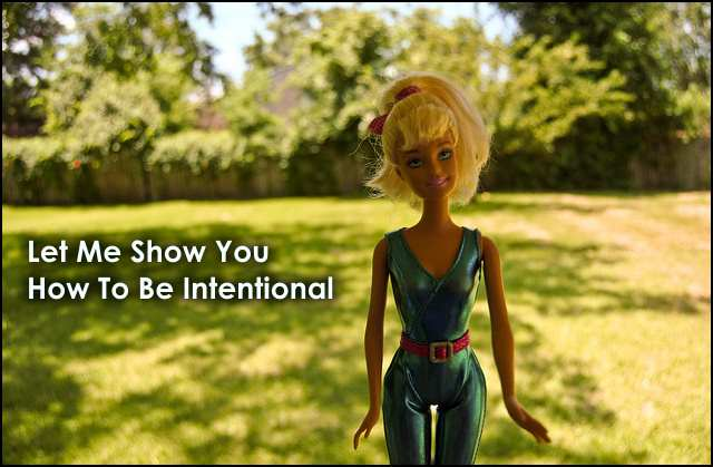 <h5>▲ Let Me Show You How To Be Intentional</h5><p>Who can't relate with a toy in action outdoors?  There are resources and props all around you.</p>
