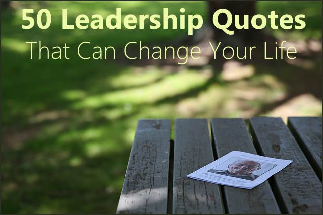 <h5>▲ 50 Leadership Quotes That Can Change Your Life</h5><p>The blurred background makes for the perfect place for a message using matching colors.  I used leadership quotes because of Steve Jobs on the cover.  It would be simple for anyone to use the magazine or book of their choice on almost any table for the same effect.</p>