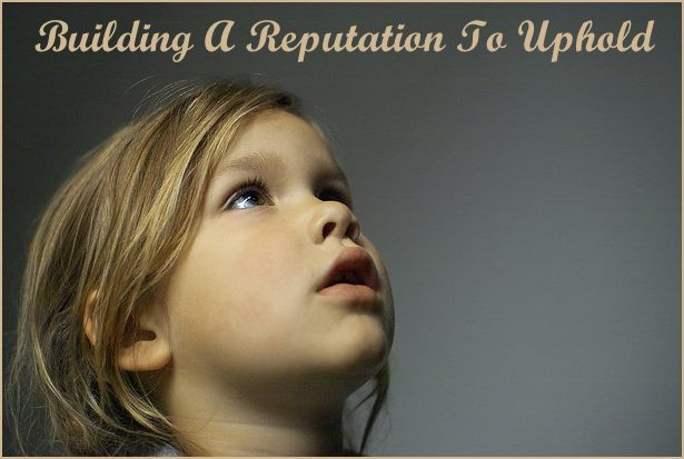 <h5>▲ Building A Reputation To Uphold</h5><p>A little girl looking at whatever your message happens to be.  Could you ask for more?  Remember to keep any message appropriate when using and image of children.</p>