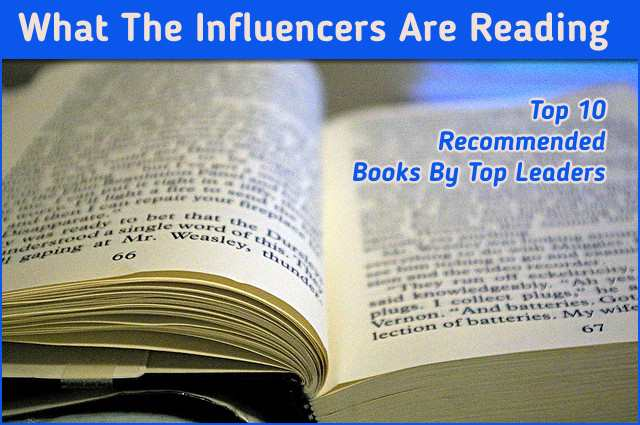 <h5>▲ What The Influencers Are Reading</h5><p>An open book can highlight specific words or simply serve as a generic image for your message of choice.  The blurred text can be accomplished while taking the shot or post image using a photo editor.</p>