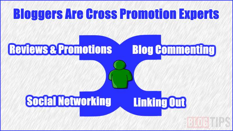 Bloggers Are Cross Promotion Experts