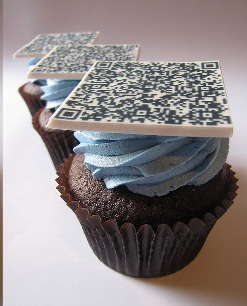 image - QR Code Cupcakes