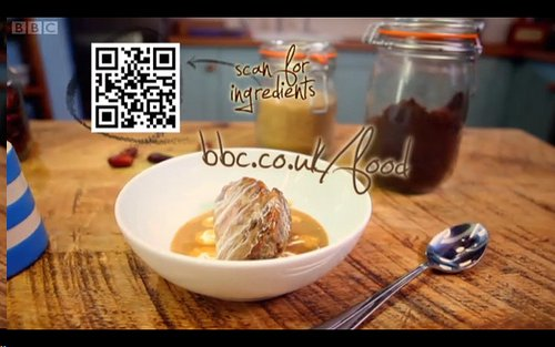 image - On-screen QR Code In BBC One's The Good Cook