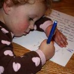 image - Child Writing