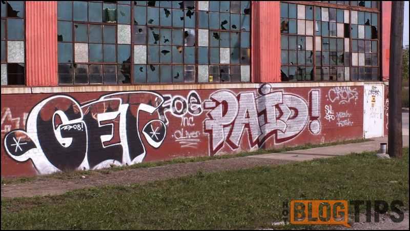 image - Graffiti - PAID!