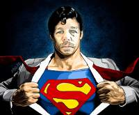 Me as Superman