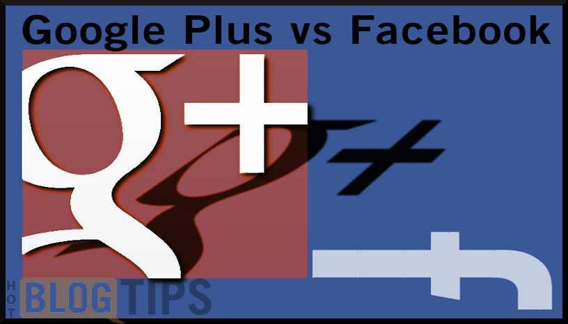 Google Plus vs Facebook