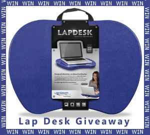 Win a lap desk contest