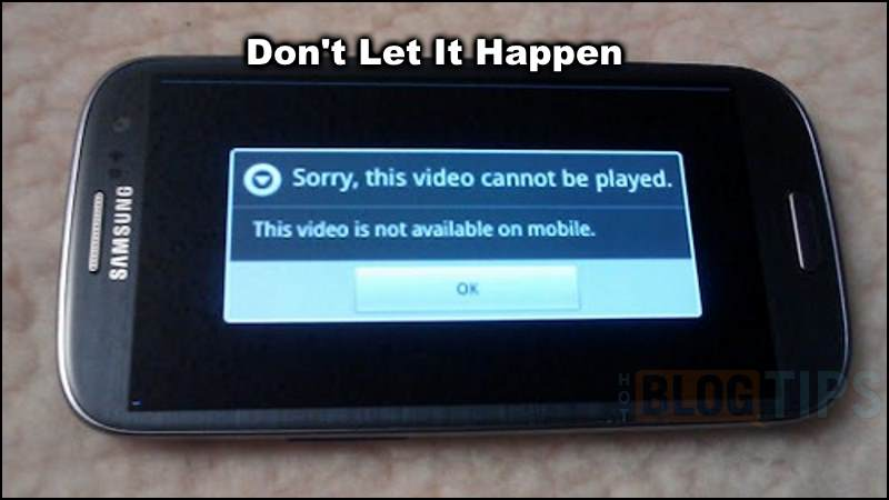 Video is not available on mobile