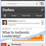 Content Recommendations Forbes Example
