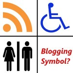 image -Blogging Symbol