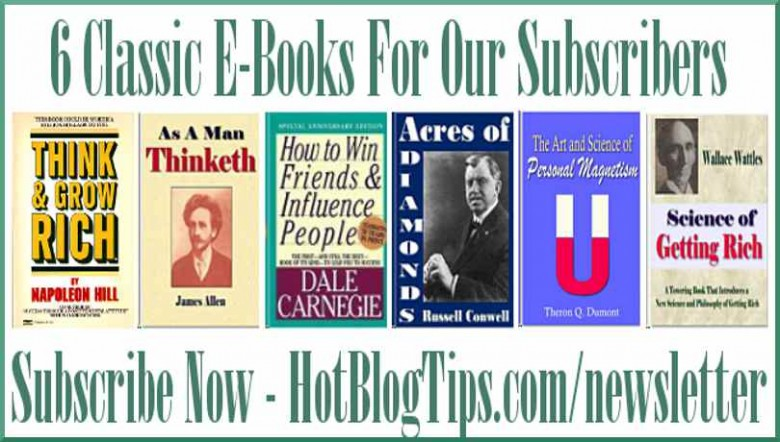 image - Six Classic E-Books For Our Subscribers