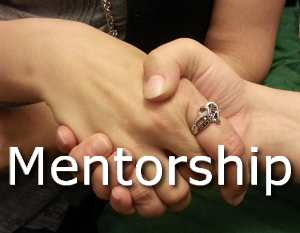 image - Mentor shaking hands