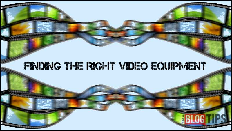 Cameras for Video – Finding The Right Video Equipment