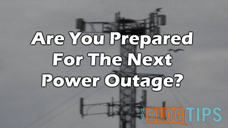 Working From Home? Are You Prepared For The Next Power Outage?