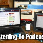 image - Listening To Podcasts
