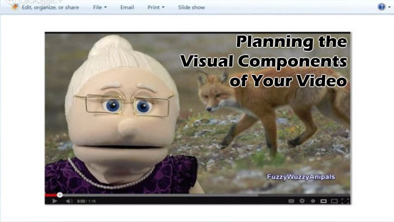 Planning the Visual Components of Your Video