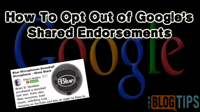 Googles Shared Endorsements