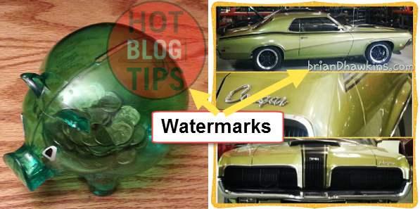 Watermark Examples