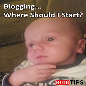 Blogging First Steps