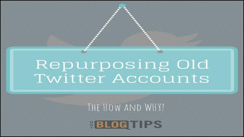Repurposing Old Twitter Accounts