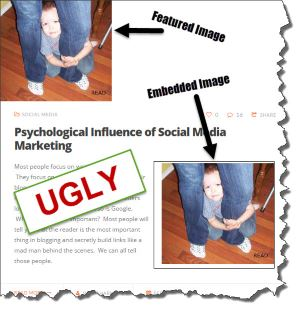 Ugly Featured Images