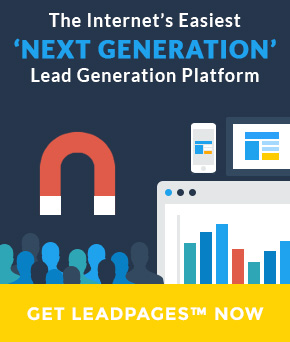 We recommend LeadPages
