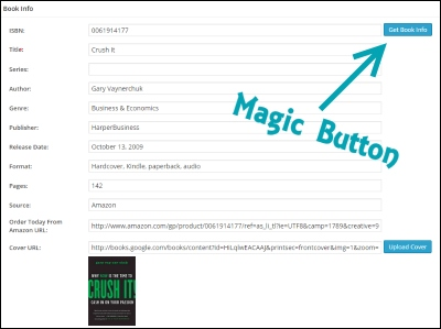 Book Review plugin working its magic