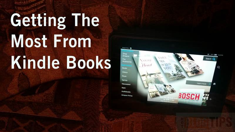 Getting The Most From Kindle Books