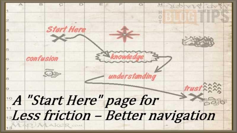 Start Here Map
