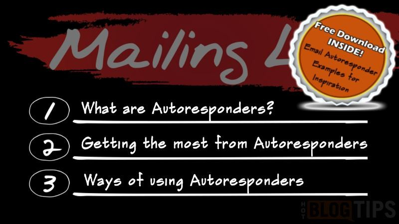 What are Email Autoresponders