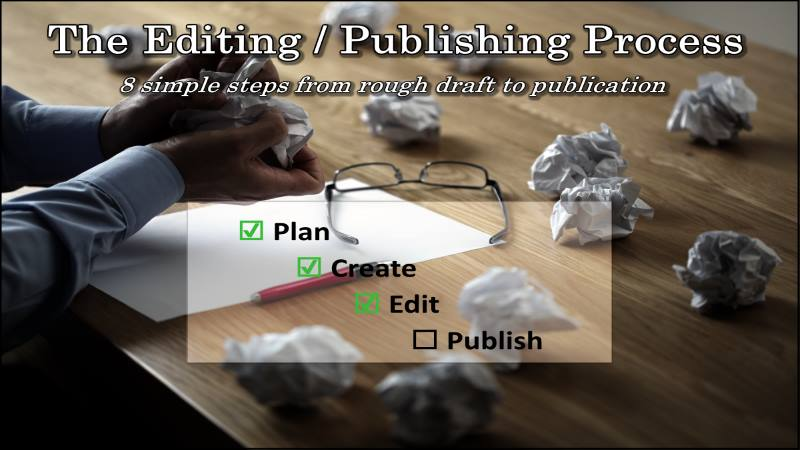 The Editing / Publishing Process