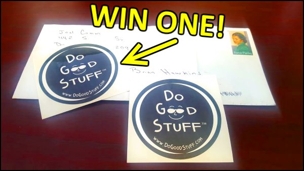 Win a Do Good Stuff sticker