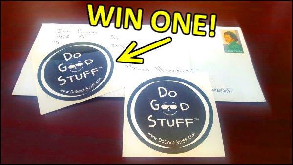 Win a Do Good Stuff sticker