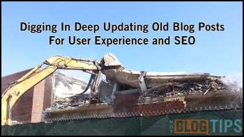 Example #2 - Updating Old Blog Posts