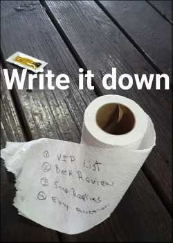 Write It Down